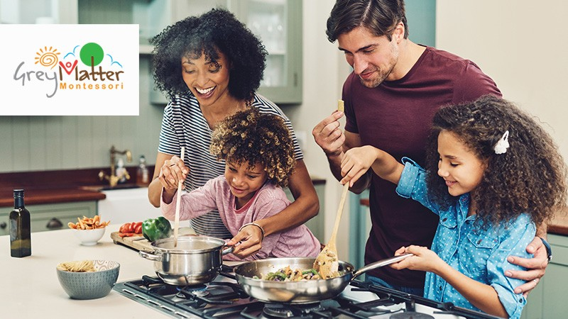 8 Ways you Can Help Your Child Eat a Healthy Diet! - Grey Matter Montessori Preschool