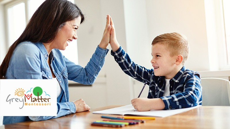 Eight ways to boost your child's educational growth by getting involved at home - Grey Matter Montessori Calgary Preschool