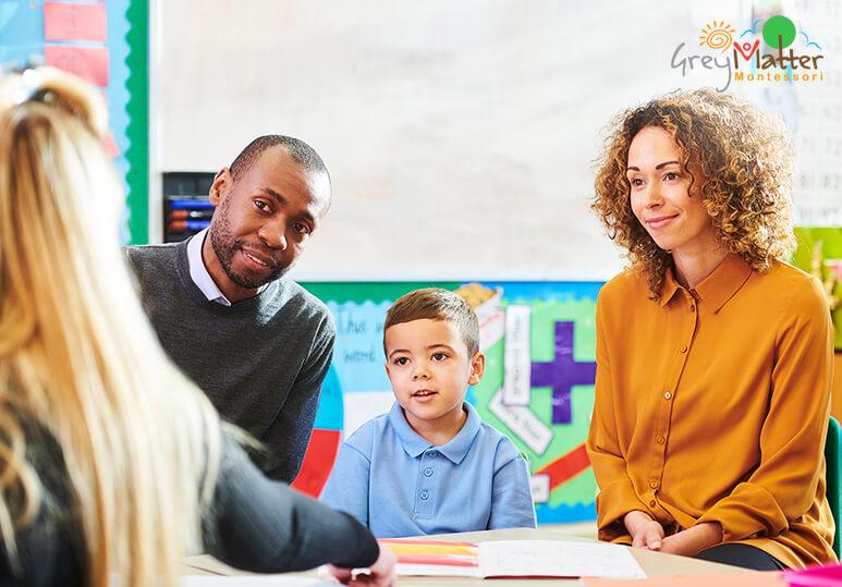 Grey Matter Montessori - Parent Teacher Tour Montessori
